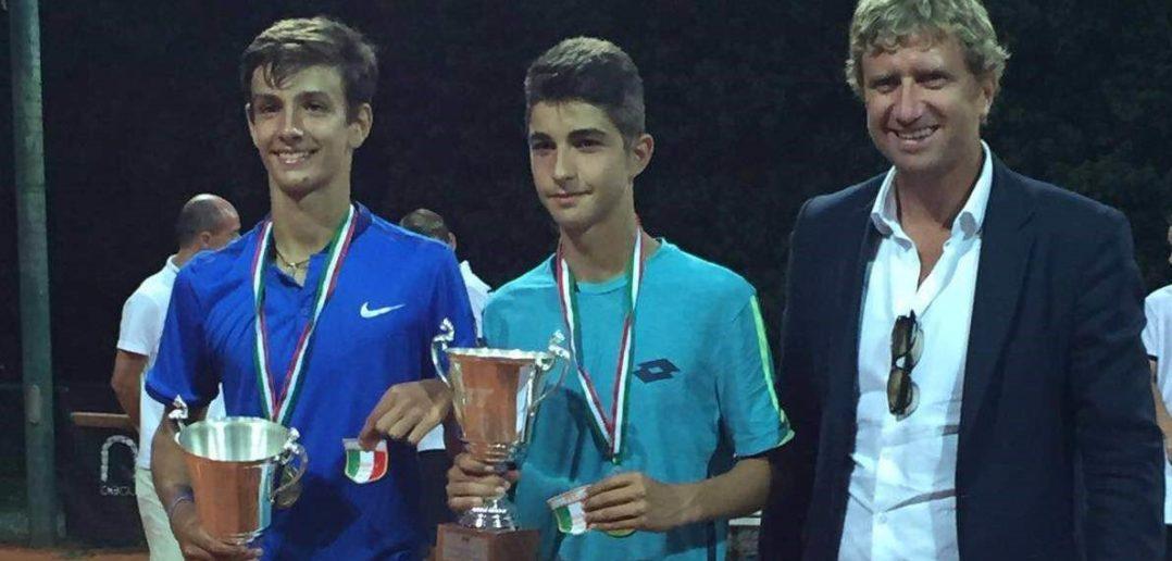 Musetti e Rottoli ai tempi dei campionati d'Italia Under 14