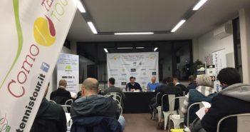 La presentazione del Como Tennis Taour nel 2017