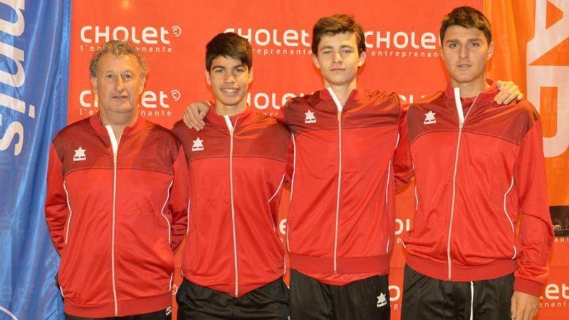 La Spagna Under 16 che ha vinto il girone di WInter Cup