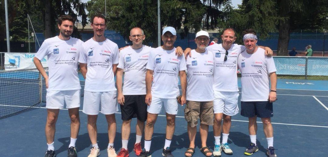 La squadra di D4 del Circolo Tennis Cantù