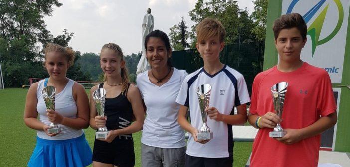Gli Under 14 in campo a San Fermo: vincono Bossi e la Bisignani