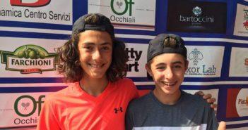 Campionati Italiani Under 13 di doppio: la Colzani e de Sanctis ko nei quarti