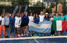 Le squadre di Italia e Argentina
