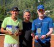 La premiazione di oggi al Tennis Center con Colombo e Maronati