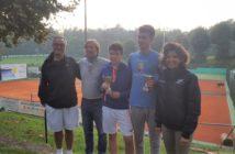 La premiazione al Tennis Grillo di Capiago Intimiano