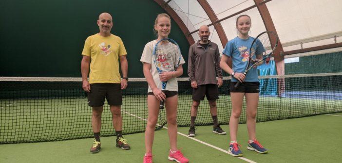 Conclusi i giorni U.14: passano il turno le ragazze dello Junior Tennis Training