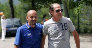 Bolognino con Corrado Barazzutti