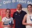 La premiazione dell'Under 12 con vincitrice Giulia Sorini