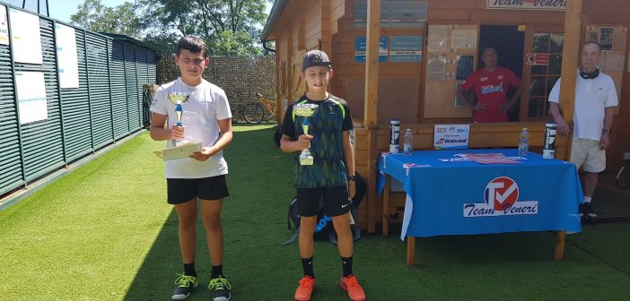 Kinder Under 9, 11 e 12 a San Fermo: vittorie per Battarino e Costantino