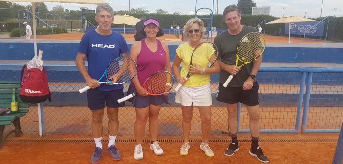 Mondiale Over 60: De Vittori in semi nel Misto e nei quarti in singolare